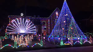 the best light displays around houston