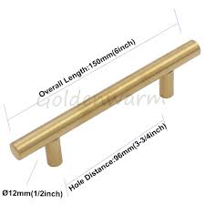aliexpress com buy 30 pieces cabinet pulls brushed brass gold