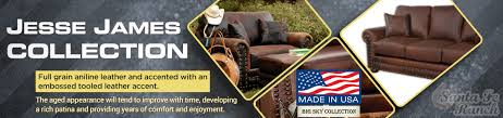 made in usa sofa jesse james sofa collection made in usa full grain aniline