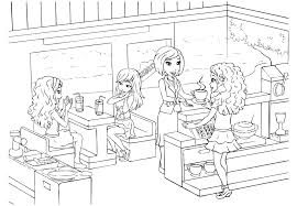 lego friends coloring page chuckbutt com