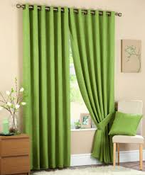 Curtains With Green Beautiful Green Bedroom Curtains With Small Cabinet