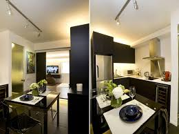 Chic And Small Apartment Interior Design In Hong Kong - Small apartment interior design