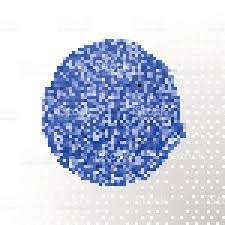 deep blue watercolor brush abstract blob vector oil paint smear