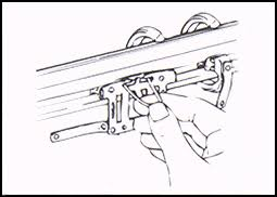 step by step instruction on how to restring a traverse rod how