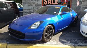 blue nissan 350z 04 nissan 350z 160k miles automatic all power nice u0027n clean
