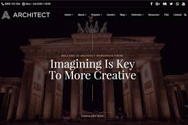 architect wordpress theme interior design responsive template