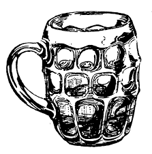 cartoon beer pint a short history of beer glasses zythophile