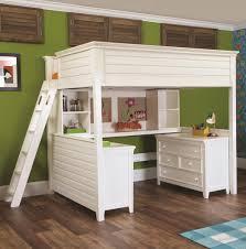 dresser with desk attached bedroom bunk witheskresser and trundle set for built in cheap loft