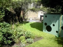 Family Garden - stylish and fun filled family garden in london shoot
