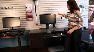 Desk Risers For Standing Desk How Ergonomic Are Desk Riser Solutions Like Varidesk And Ergotron