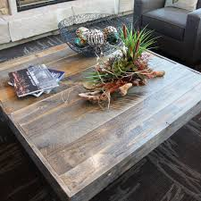 reclaimed wood square coffee table reclaimed wood coffee table jw atlas wood co