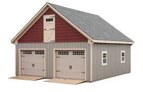 Garage With Loft by 2 Story Garage Two Story Garage Exterior Smartpanel Gambrel
