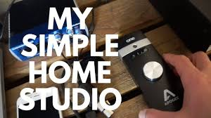 how to make a simple recording studio from a bedroom youtube