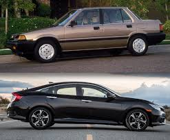 nissan civic 2016 honda civic growth curve 1986 versus 2016 the daily drive