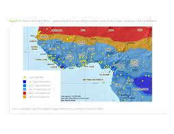 Africa Climate Map by Announcements Land Matrix