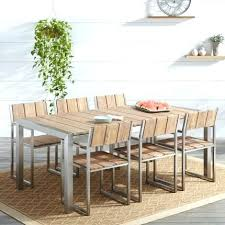 teak outdoor furniture bay area best dining table the design amazing