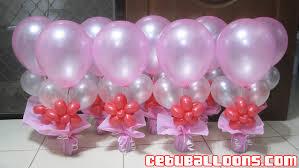 balloon arrangements for birthday balloon arrangement debut more better table dma homes 57138