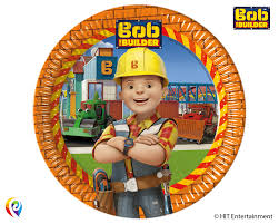 bob builder partyware