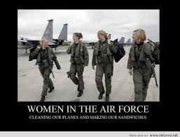 Air Force Memes - women in the air force from meme to you