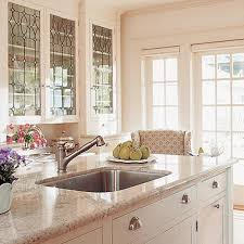 Kitchen Cabinet Glass Inserts by Kitchen Cabinet Doors With Glass Inserts Renovate Your Interior