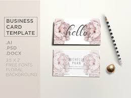 elegant business card template business card templates
