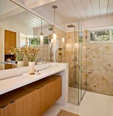 mid century modern bathroom design mid century modern deck house