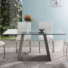 dining room table ls brune contemporary dining table 63 euro living furniture