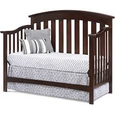 Convertible Crib Espresso by Sorrento Convertible Crib Espresso Walmart Com