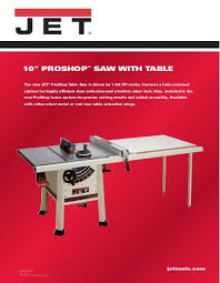 jet benchtop table saw owner s manual benchtop cold saw jet tools