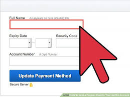 prepaid account how to add a prepaid card to your netflix account 8 steps