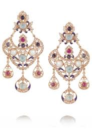 percossi papi earrings percossi papi gold plated multi earrings net a