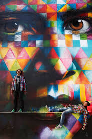 Paint By Number Mural by The Vibrant Murals Of Kobra Fine Print Art And Design Blog