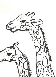 giraffe coloring pages printable free printable giraffe coloring pages for kids 2 chainimage
