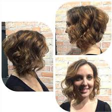 angled curly bob haircut pictures angled bob haircut chic short curly hairstyles for women