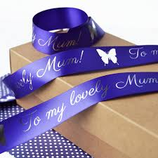 s day 25mm personalised printed ribbon by altered chic