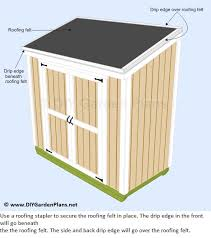 How To Build A Lean To Shed Plans by Proper Drip Edge Installing For Shed Roof Greenbuildingadvisor Com