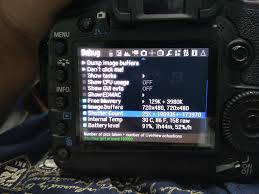 canon 5d mark ii shutter count is wrong