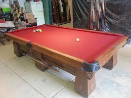 brunswick brighton pool table antique brunswick balke collender medalist pool table for sale