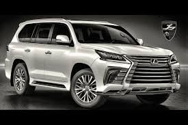 lexus jeep 2016 lexus lx 570 suv dressed up with meaner body style pack