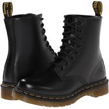 womens boots black dr martens 1460 w black smooth s boots polyvore