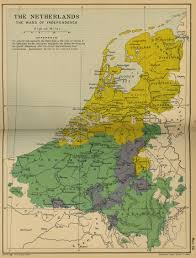 netherlands map map of the netherlands the wars of independence