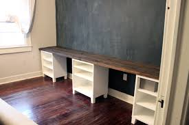 Diy Wood Desk Diy 12 Foot Desk Caitlin Wallace Rowland