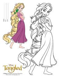 Colouring Pages Coloring Pages Tangled