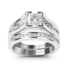 wedding rings sets bridal sets engagement wedding ring sets amarley