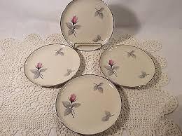 syracuse china bridal syracuse china splendor pttrn bread plate set of four 4 6 1