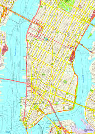 map of new york and manhattan new york manhattan map eps illustrator vector city maps usa