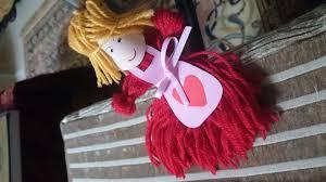 how to make a yarn doll diy tutorial youtube