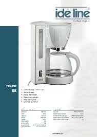 coffeemaker users guides