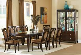 espresso finish transitional dining table w options