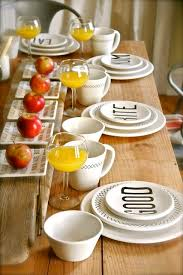 Dining Room Table Setting Dishes 8 Best Dining Images On Pinterest Dining Room Kitchen And Colors